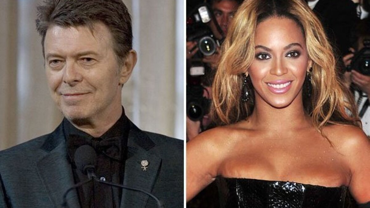 Bowie & Beyoncé: 2013's musical bookends - The San Diego