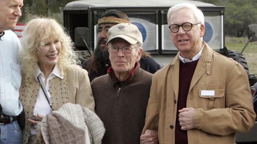 "Loretta Swit, Gene Reynolds and Bill Christopher of ""MASH"""