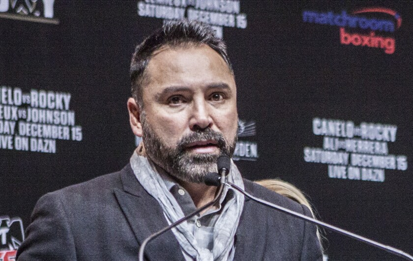 Oscar De La Hoya denies sexual assault claims in statement by Golden Boy Productions