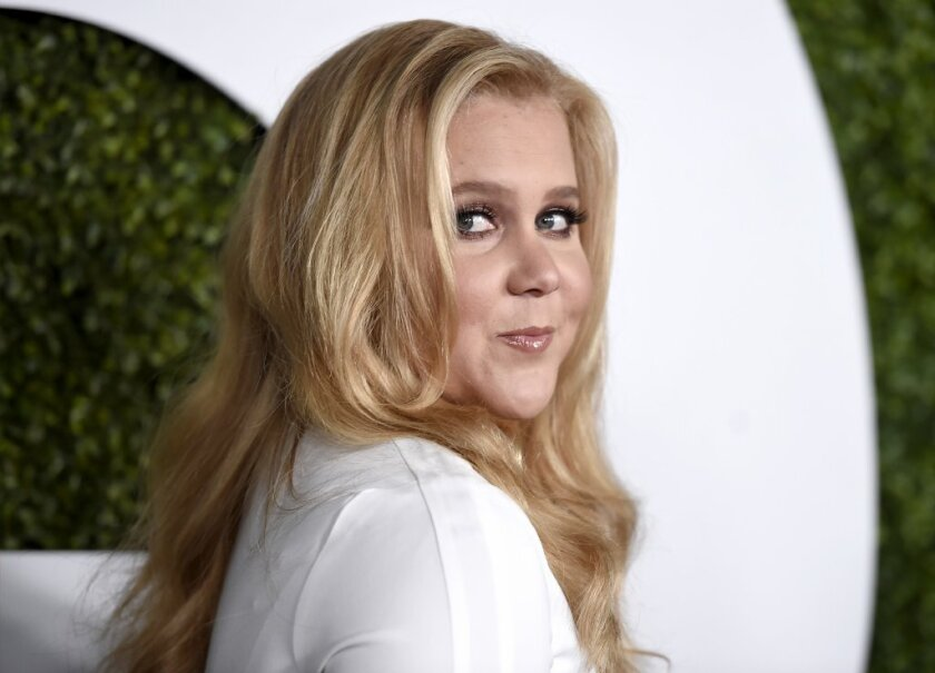 "Amy Schumer earned four Emmy nominations this year, including nods for her Comedy Central series, ""Inside Amy Schumer,"" and for hosting ""Saturday Night Live."""