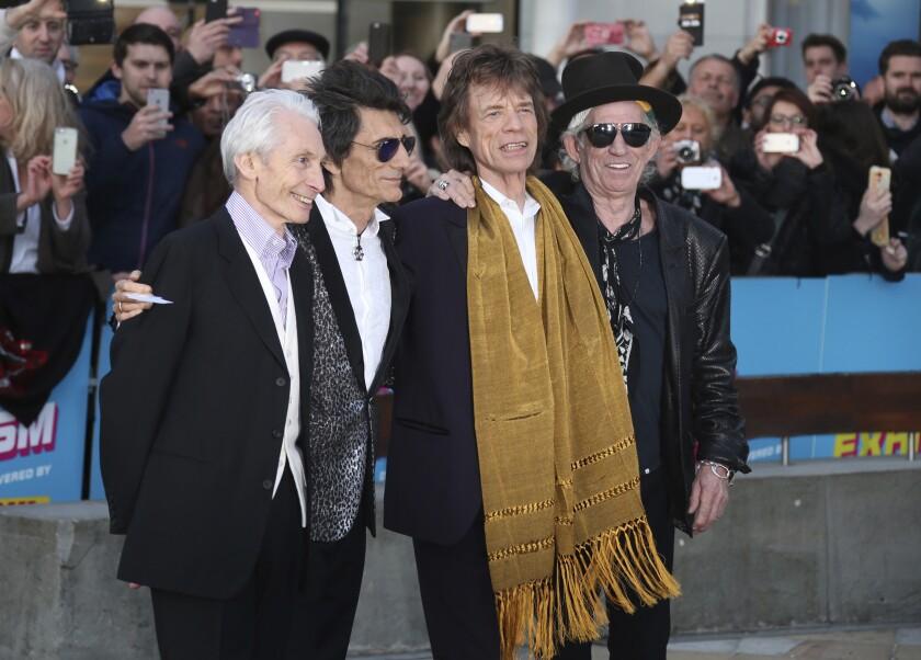 Virus Outbreak-The Rolling Stones