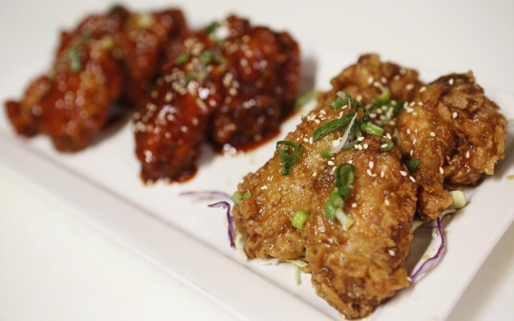Soy garlic chicken wings from Hot n Sweet