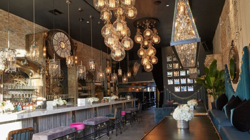 Interior of the new Tom Tom restaurant and bar in West Hollywood. Credit: Tom Tom