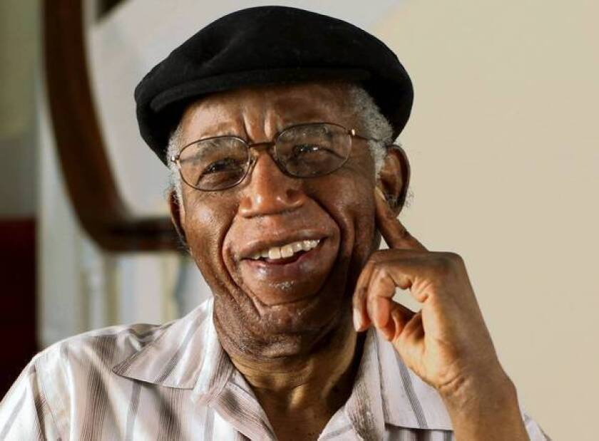 """Nigerian author Chinua Achebe wrote short stories, essays, poetry and children's books in addition to five novels and edited collections of modern African literature. Nelson Mandela hailed him as the author """"who brought Africa to the world."""""""