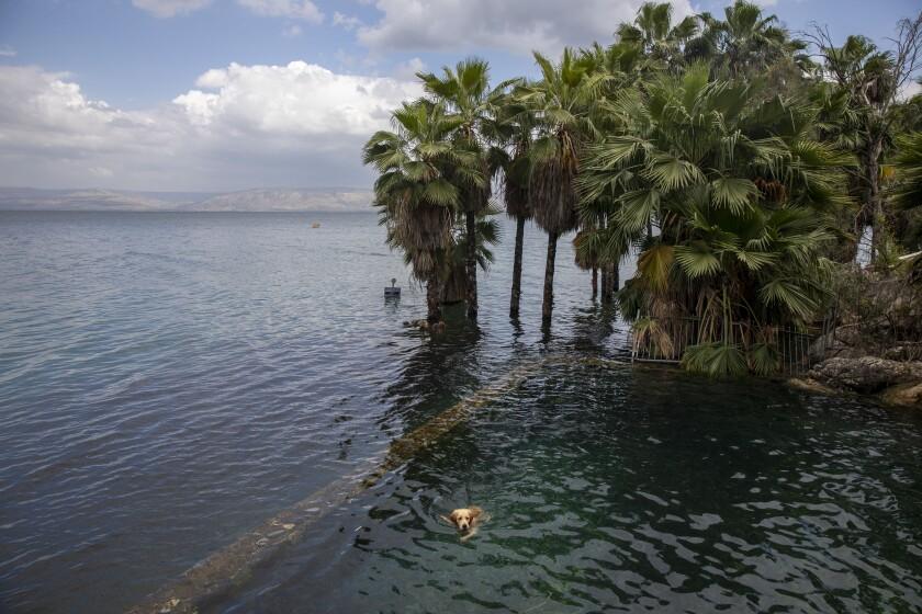 Virus Outbreak Israel Sea of Galilee