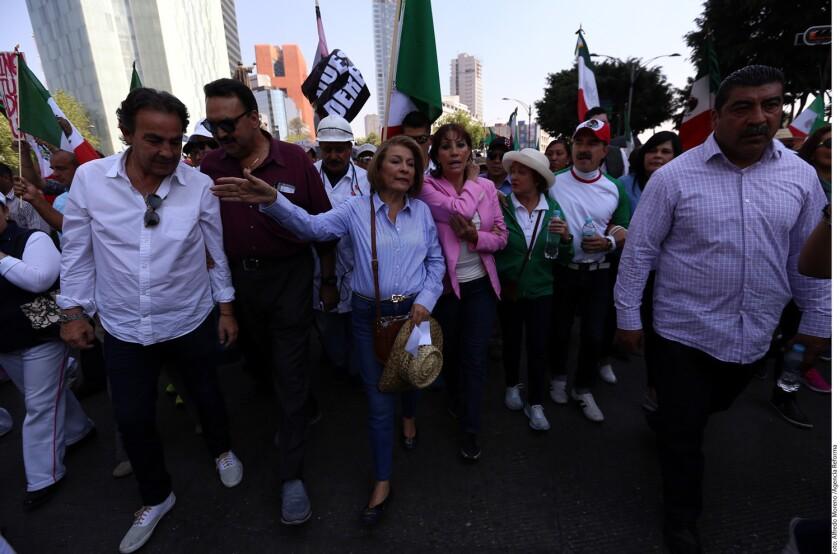La Asamblea Nacional de las Resistencias Ciudadanas planea una manifestación para el próximo 25 de febrero contra el Presidente Enrique Peña Nieto y el Mandatario de Estados Unidos, Donald Trump.