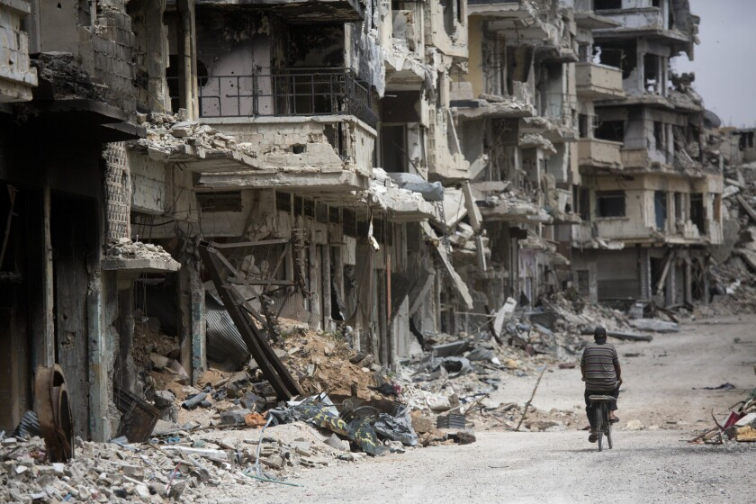 Chronicling a disaster: A timeline of the Syrian civil war