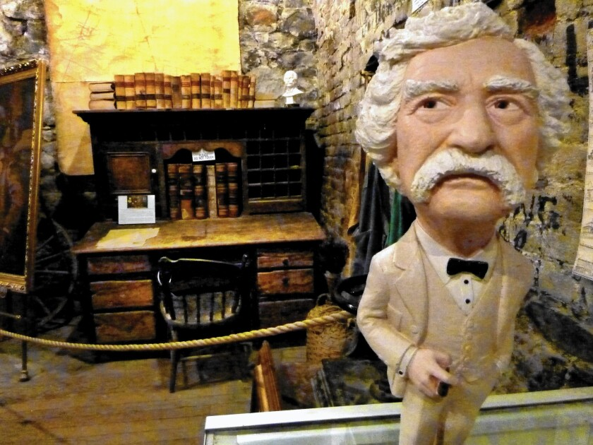 The Territorial Enterprise, now back in business, has a museum at the Virginia City, Nev., site where Mark Twain worked as a journalist in the 1860s.