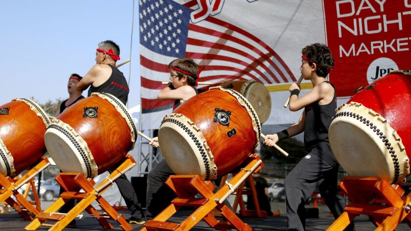 Taiko drummers will perform at the 2018 OC Japan Fair at the OC Fair and Event Center in Costa Mesa.