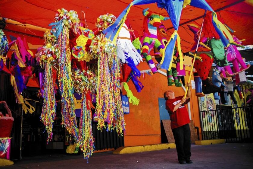 Piñata district in L A  produces hit after hit - Los Angeles Times