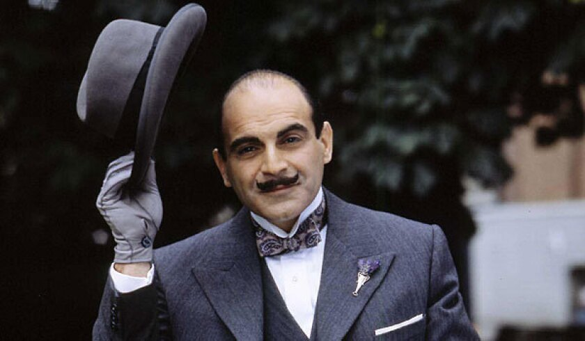 Actor David Suchet has played the Belgian detective Hercule Poirot since 1989.