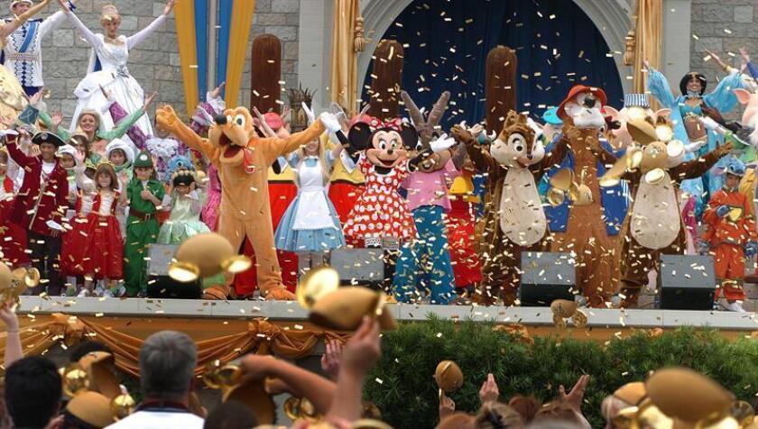 Vista de varios personajes animados de Disney. EFE/Archivo
