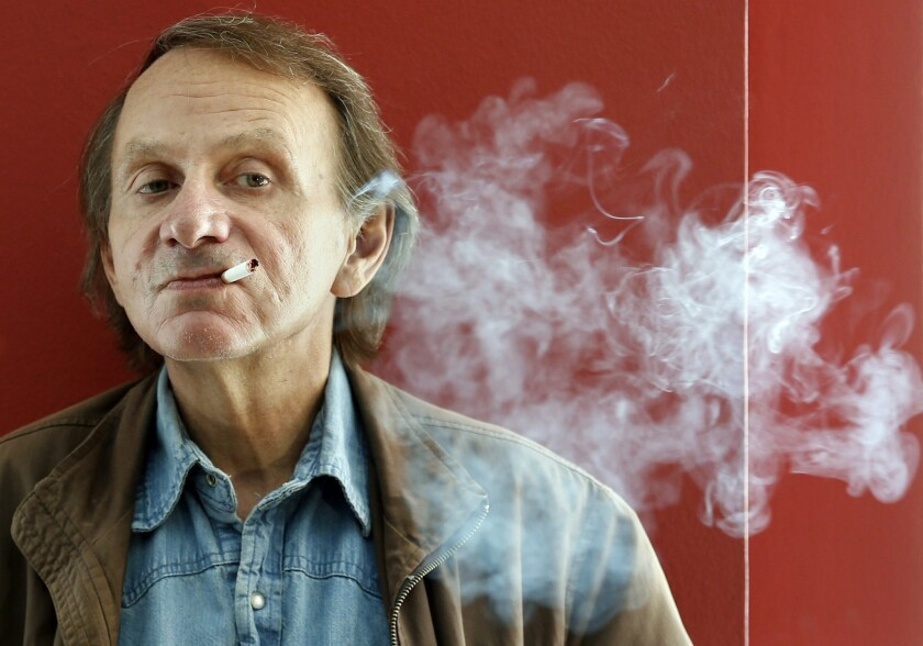 A summer festival in Croatia has dropped a play from controversial French author Michel Houellebecq, shown in Barcelona, Spain, last month.