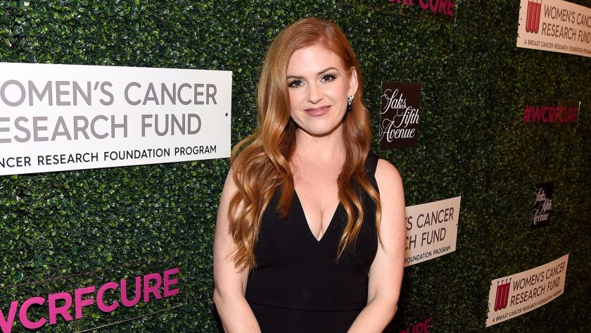Isla Fisher attends An Unforgettable Evening at the Beverly Wilshire in Beverly Hills.