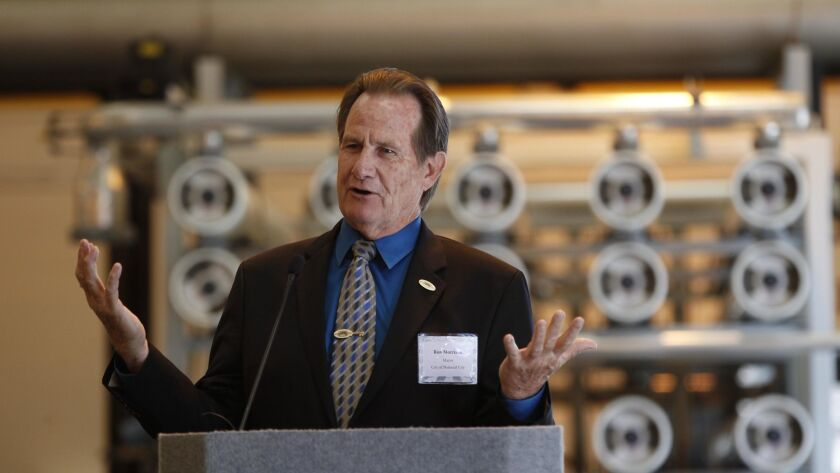 The Sweetwater Authority announced plans for an expansion of their Reynolds Groundwater Desalination facility, doubling their current 5 million gallons a day to 10 mgd. The new equipment will fit i