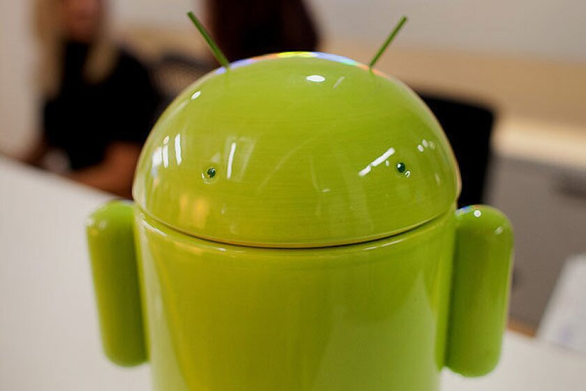 Android accounted for 72% of worldwide Q3 smartphone sales