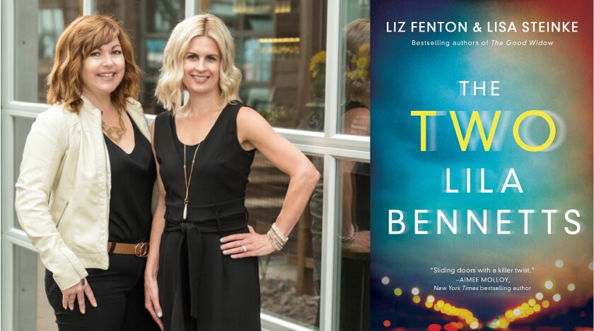 Authors Liz Fenton and Lisa Steinke