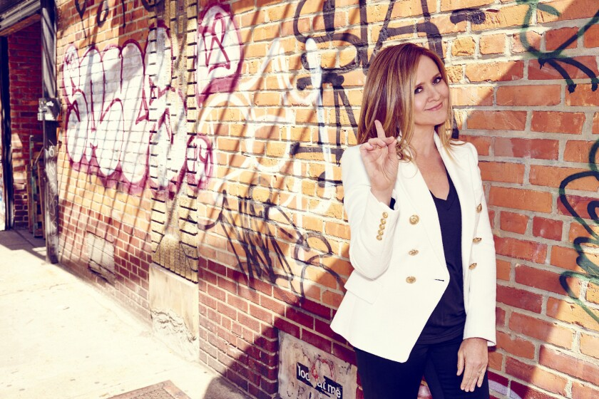 """Samantha Bee takes no prisoners on her new late-night show """"Full Frontal."""""""