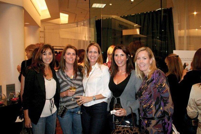 Gabrielle Oratz, Tina Bennett, Catherine Fox, Roni McGuire, Leslie Degoler