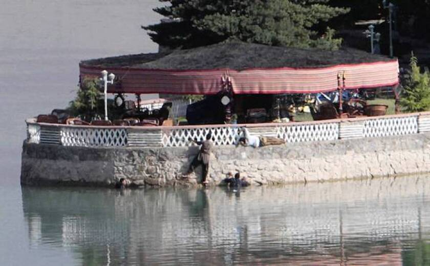 Lakeshore resort in Afghanistan shattered by violence