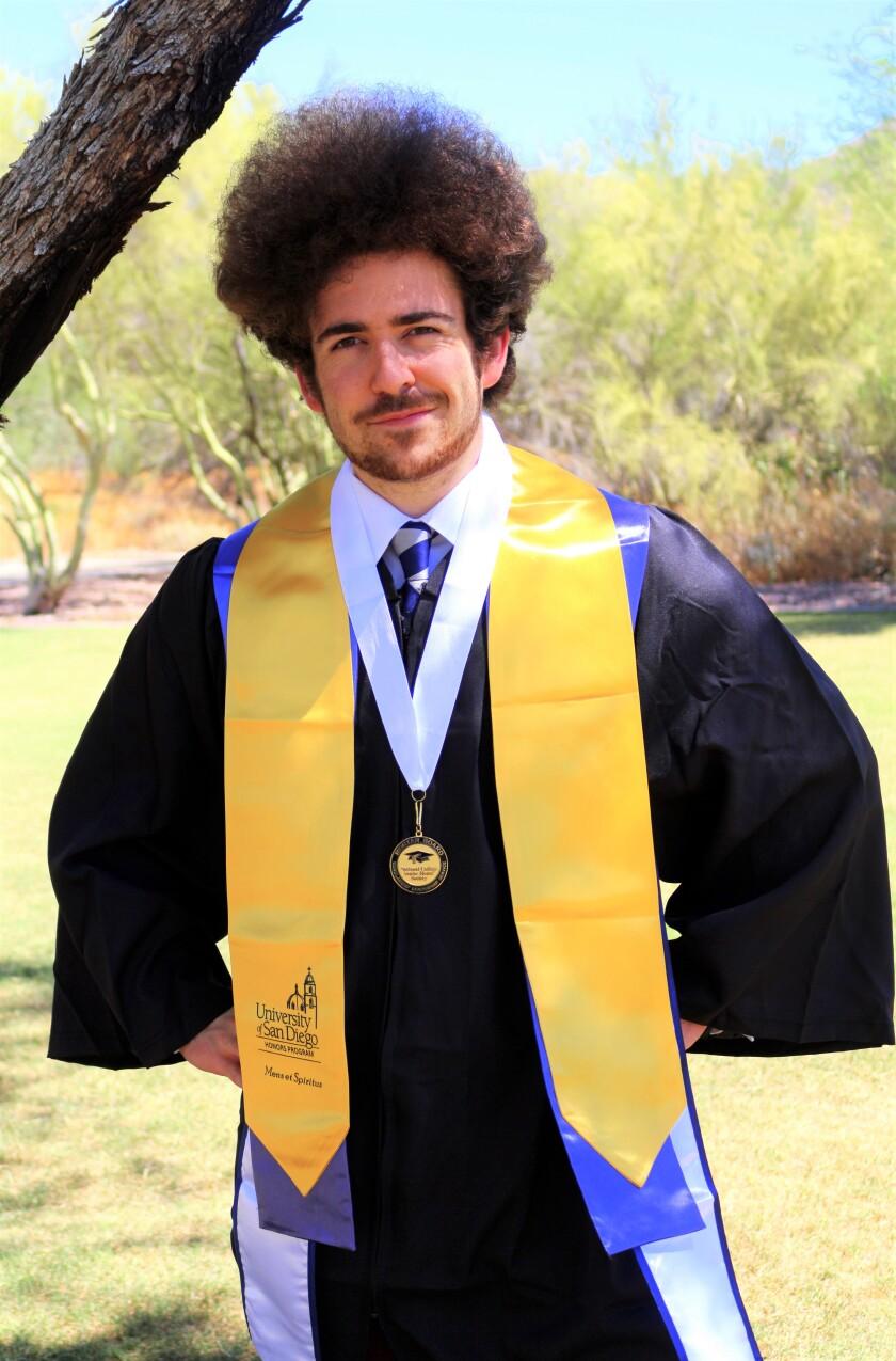 University of San Diego graduate Nicholas Cohn.