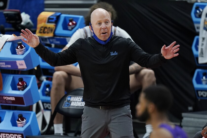 UCLA coach Mick Cronin managed to have his teams play at their best at the end of the season.