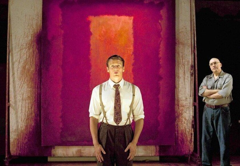 Theater review: A blazing 'Red' with Alfred Molina as Mark Rothko