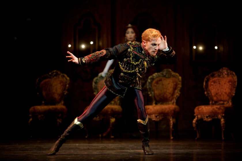 "Steven McRae as Rudolph in the Royal Ballet of London's ""Mayerling"""