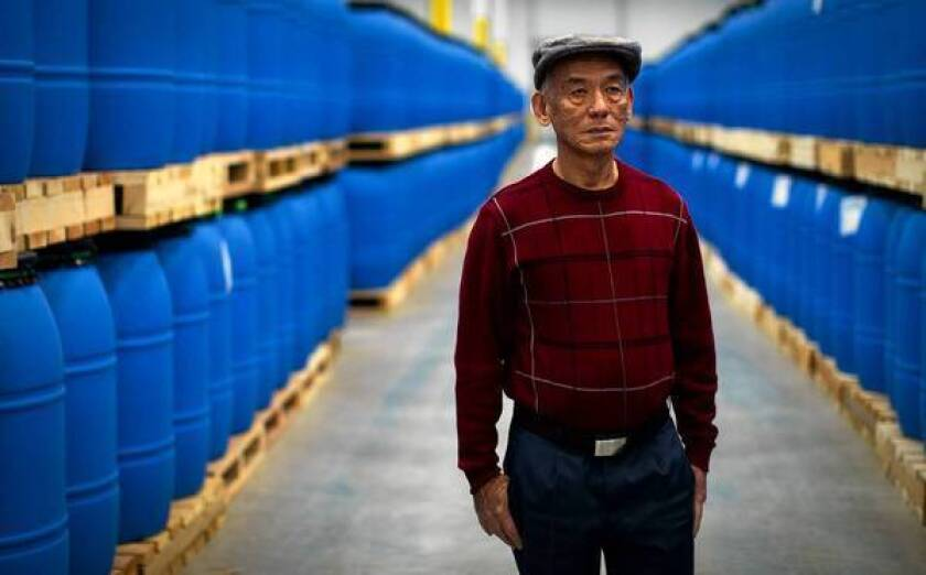 David Tran's company, Huy Fong Foods Inc., is moving to a $40-million, 655,000-square-foot facility in Irwindale that could triple its production capacity.