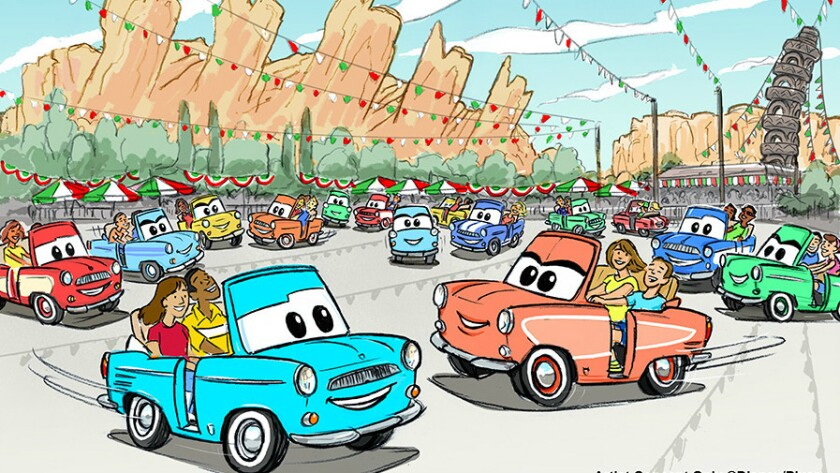 A new car ride will replace Luigi's Flying Tires at Disney California Adventure.