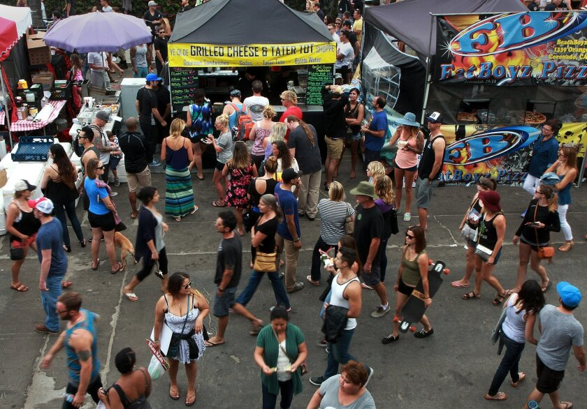 The Ocean Beach Street Festival is just one of many events that help make San Diego the eighth best big city to live in.
