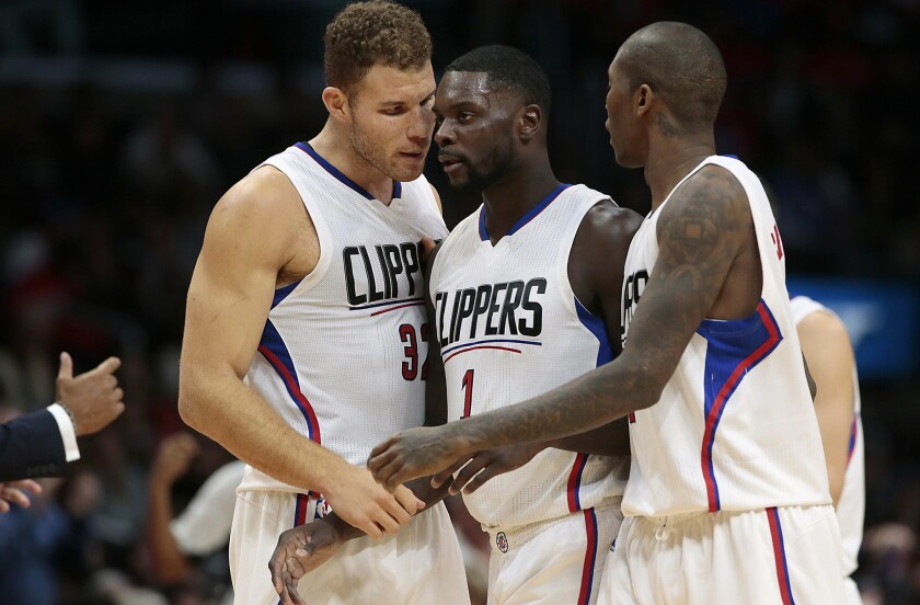 Treading water is growing old for the underachieving, Warriors-chasing Clippers