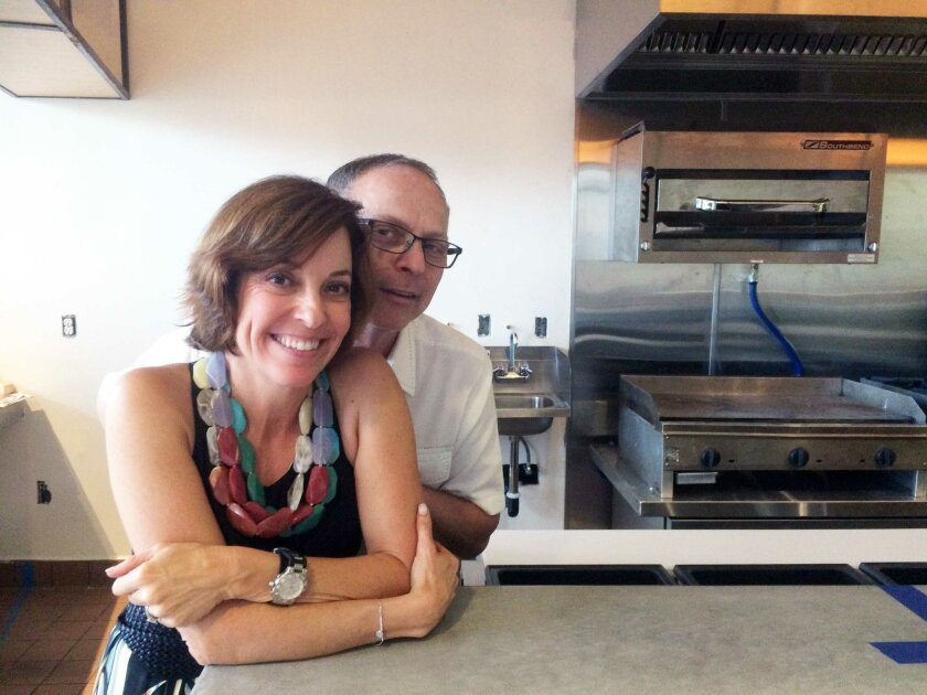 Pepe and Deborah Stepensky will open Porkyland in the Torrey Hills Shopping Center. Courtesy photo