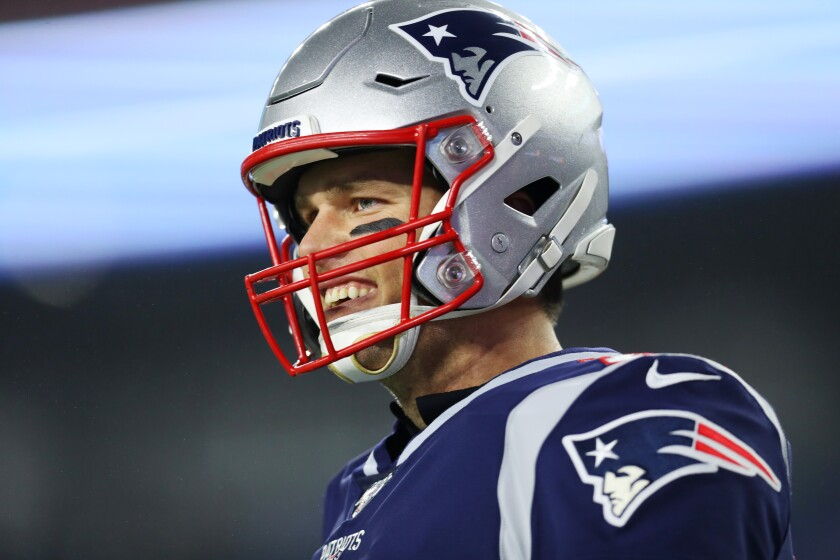 The Tampa Bay Buccaneers' Super Bowl odds jumped from 40-1 to 14-1 after they signed Tom Brady last week.