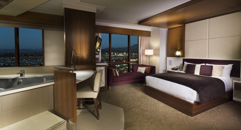The Spa Studio suites at Pechanga's Casino Tower are well suited for a romantic getaway.