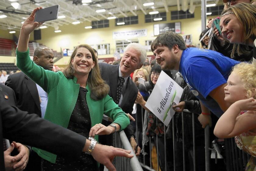 Bill Clinton, Alison Lundergan Grimes