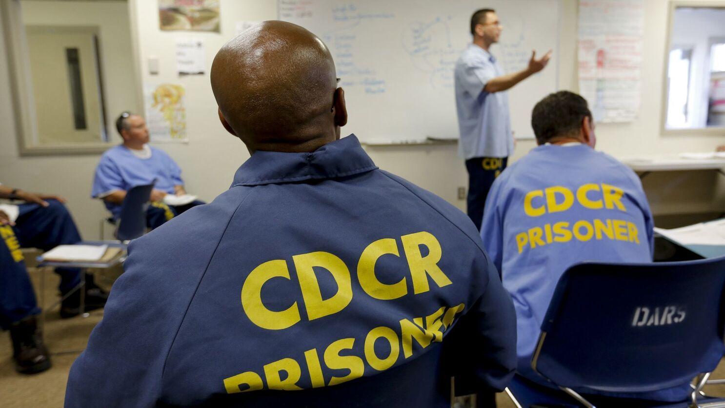 Despite an emphasis on inmate rehab, California recidivism