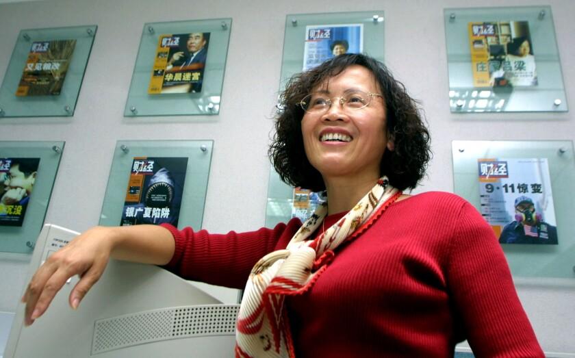 Chinese editor Hu Shuli