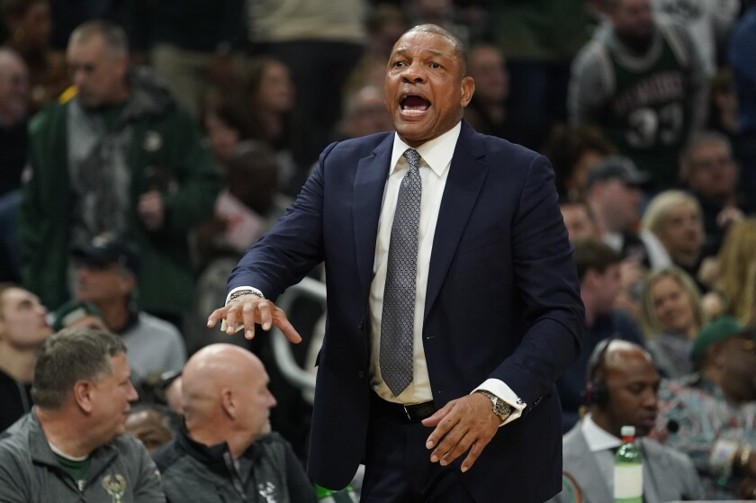 Column: Blowout loss to Bucks shows that the Clippers have a long way to go
