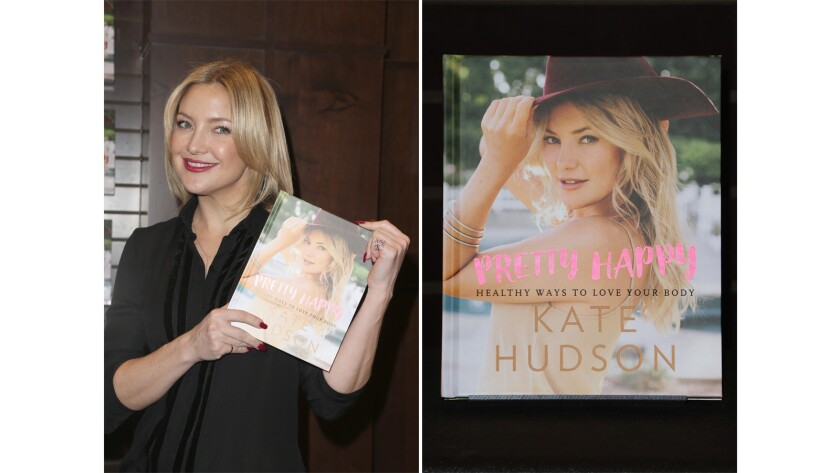 "Actress Kate Hudson, seen at a book signing for ""Pretty Happy: Healthy Ways To Love Your Body"" in Los Angeles on Feb. 22, tries to meditate for 20 minutes twice a day."