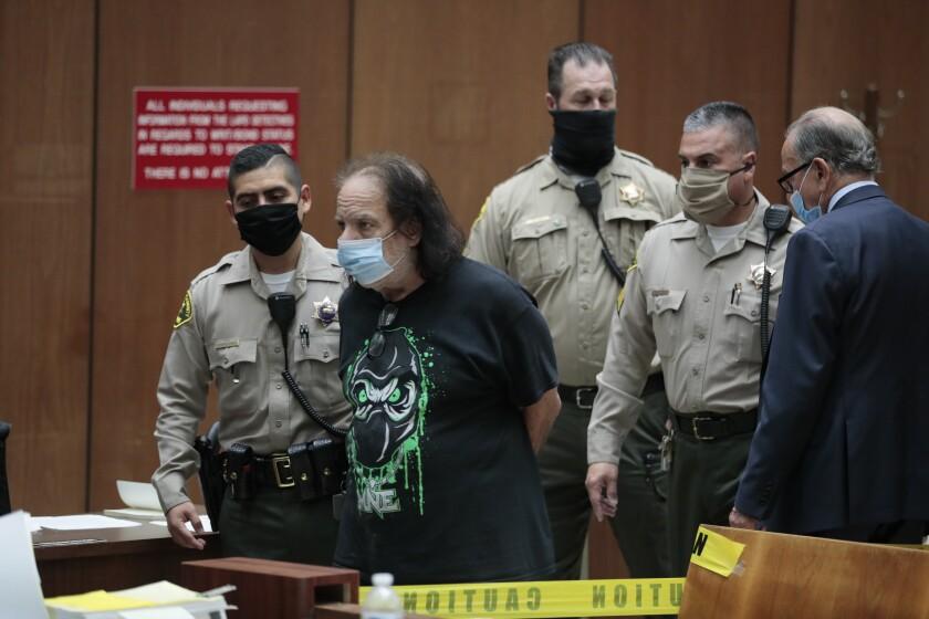 Ron Jeremy, actor de cine porno, recibe nuevos cargos de agresión sexual -  Los Angeles Times