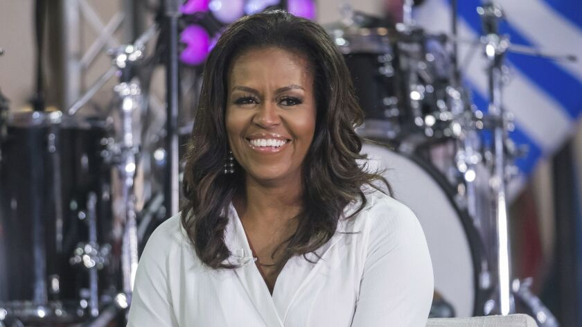 """Michelle Obama writes openly about her experiences with infertility in her new book, """"Becoming."""""""