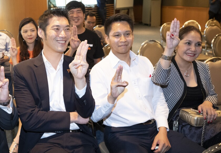Thai court acquits opposition party of sedition charge