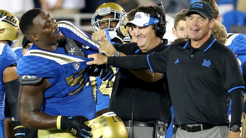 UCLA gets second chance but must beat 'a really good' Utah, then USC