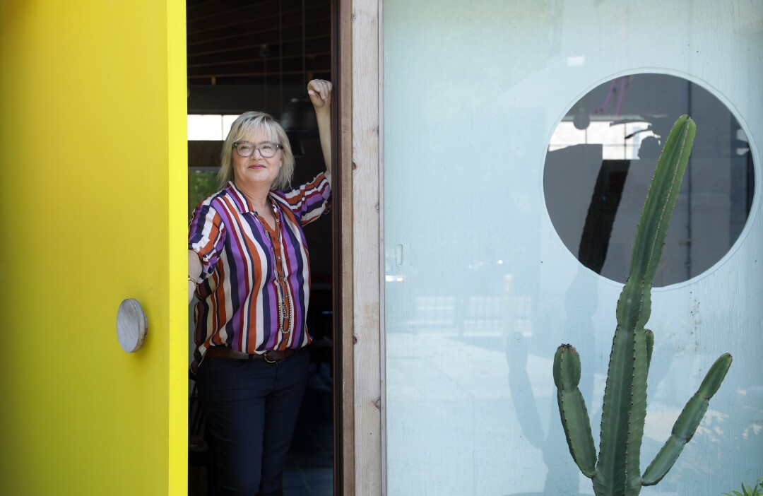 Architect Barbara Bestor at her Silver Lake office