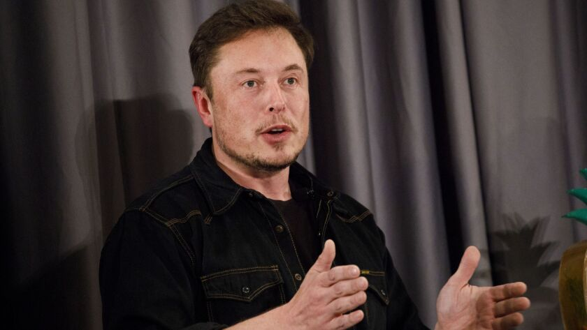 Elon Musk is the chairman and chief executive of Tesla.