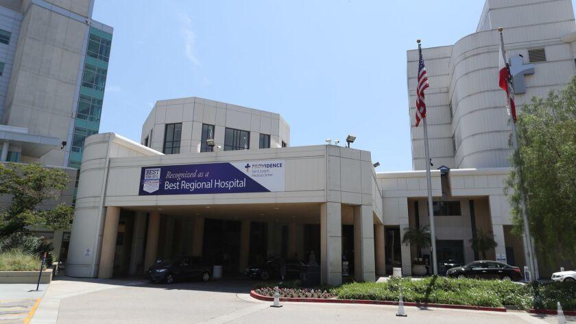 Providence St. Joseph Medical Center, Burbank, on Thursday, July 19, 2018.