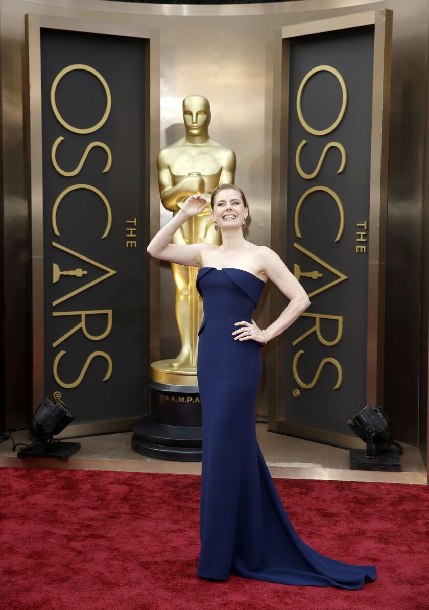 """American Hustle"" actress Amy Adams."