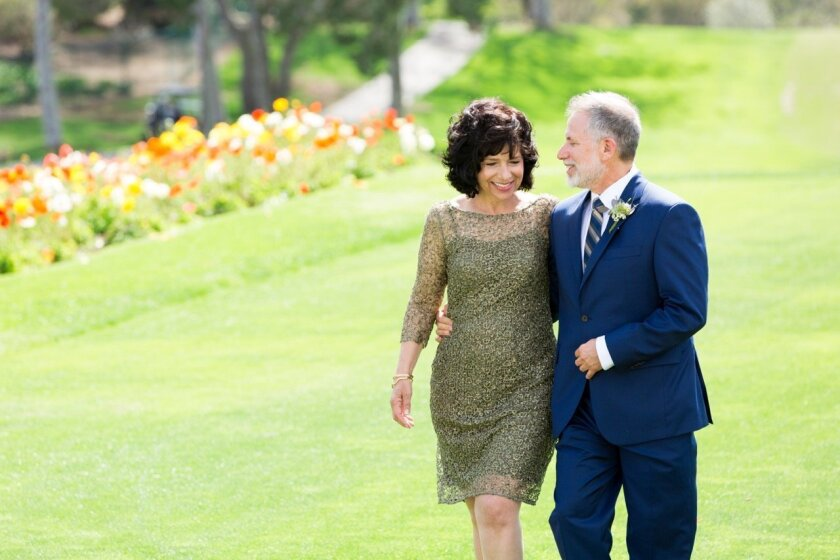The couple married on April 10 at Lomas Santa Fe Country Club in Solana Beach.