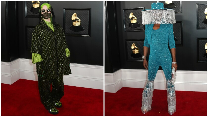 Delightful fashion details at the 2020 Grammy Awards